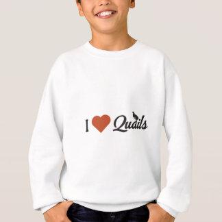 I Liebe-Wachteln Sweatshirt