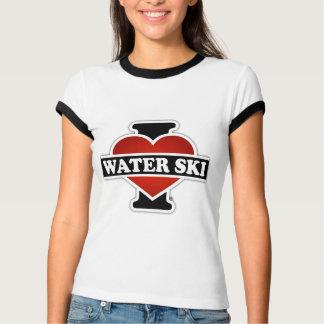 I Liebe-Wasser-Ski T-Shirt