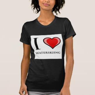 I Liebe-Wasserskifahren T-Shirt