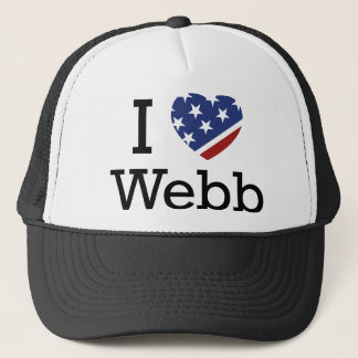 I Liebe Webb Truckerkappe