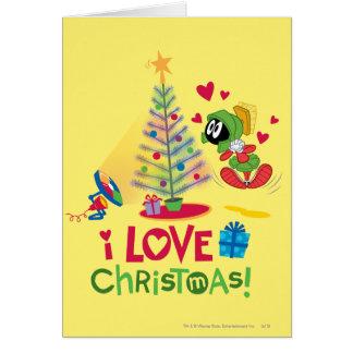 I Liebe-Weihnachten - MARVIN das MARTIAN™ Karte