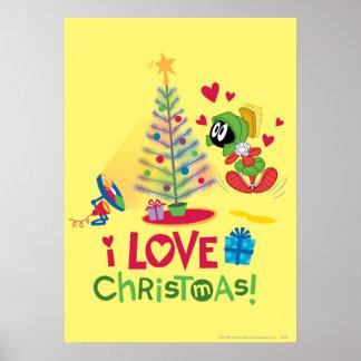 I Liebe-Weihnachten - Marvin Plakatdrucke