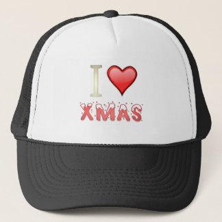 I Liebe-Weihnachten Truckerkappe