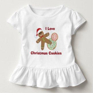 I Liebe-Weihnachtsplätzchen, Lebkuchen-Kleinkind Kleinkind T-shirt