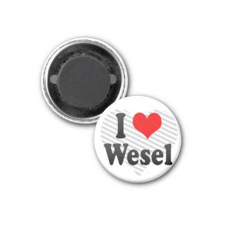 I Liebe Wesel, Deutschland. Ich Liebe Wesel, Deuts Kühlschrankmagnet