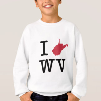 I Liebe West Virginia Sweatshirt