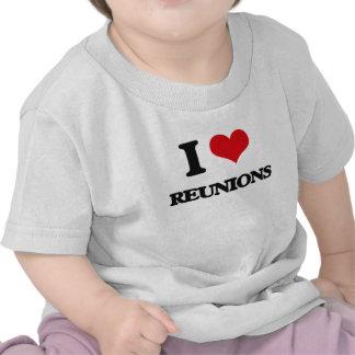 I Liebe-Wiedervereinigungen T Shirts
