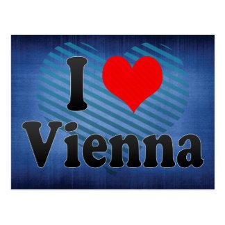 I Liebe Wien, Österreich Postkarten