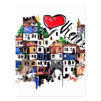 I Liebe Wien Postkarte