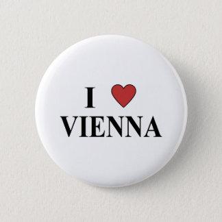 I Liebe Wien Runder Button 5,7 Cm