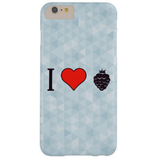 I Liebe-wilde Beeren Barely There iPhone 6 Plus Hülle