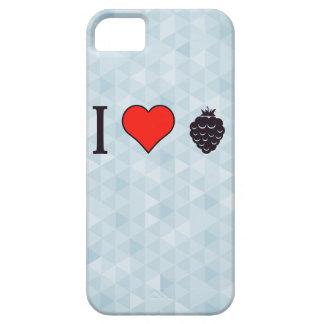 I Liebe-wilde Beeren iPhone 5 Schutzhülle