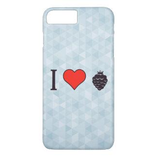 I Liebe-wilde Beeren iPhone 7 Plus Hülle