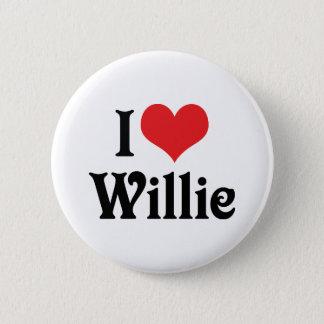 I Liebe Willie Runder Button 5,1 Cm