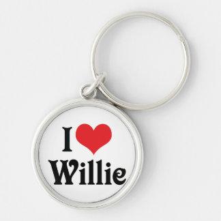I Liebe Willie Schlüsselanhänger