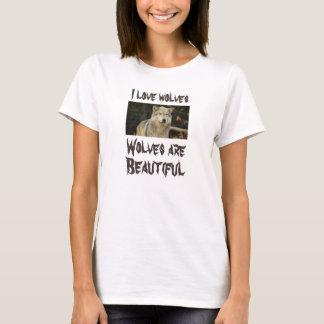 I LIEBE-WÖLFE - WÖLFE SIND SCHÖN T-Shirt