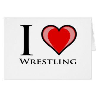 I Liebe-Wrestling Karte