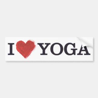 I Liebe-Yoga-Autoaufkleber Autoaufkleber