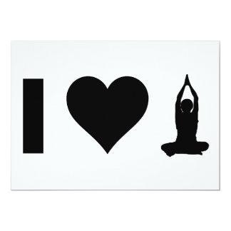 I Liebe-Yoga Karte