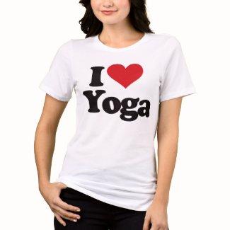Yoga Hamburg I Love Yoga T-Shirt
