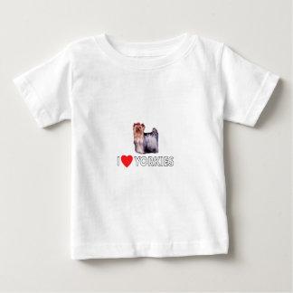 I Liebe Yorkies Baby T-shirt