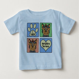 I Liebe-Yorkshire-Terrier Baby T-shirt