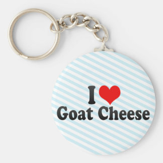 I Liebe-Ziegen-Käse Schlüsselanhänger