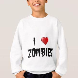 I Liebe-Zombies Sweatshirt