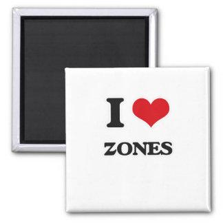 I Liebe-Zonen Quadratischer Magnet