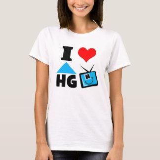 I Liebe-Zuhause und Garten Fernsehen T-Shirt