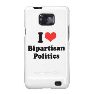 I LIEBE ZWEI PARTEIEN ZUGEHÖRIGES POLITICS png Samsung Galaxy SII Cover