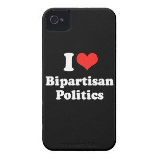 I LIEBE ZWEI PARTEIEN ZUGEHÖRIGES POLITICS.png iPhone 4 Etuis