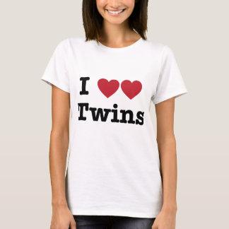 I Liebe-Zwillinge T-Shirt