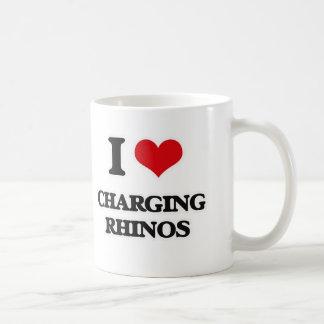 I LiebeaufladenRhinos Kaffeetasse