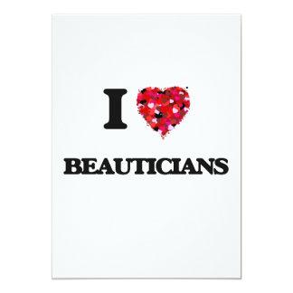 I LiebeBeauticians 12,7 X 17,8 Cm Einladungskarte