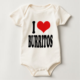 I LiebeBurritos Baby Strampler