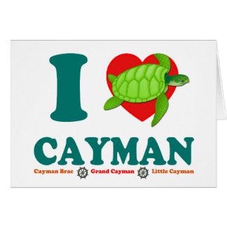 I LiebeCayman Karte