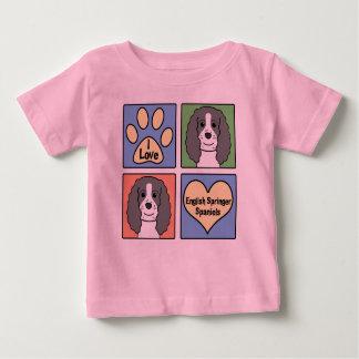 I Liebeenglische Springers Baby T-shirt