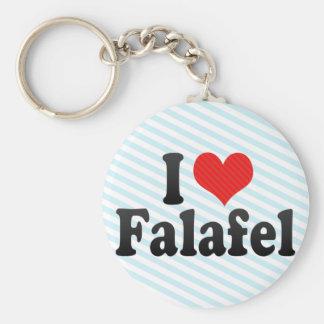 I LiebeFalafel Schlüsselanhänger