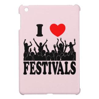 I Liebefestivals (Schwarzes) iPad Mini Hülle