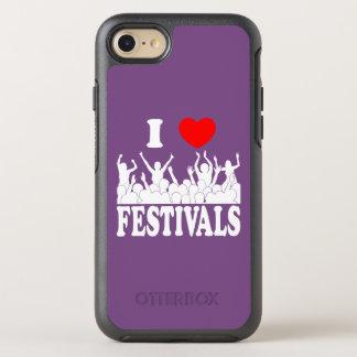 I Liebefestivals (weiß) OtterBox Symmetry iPhone 8/7 Hülle