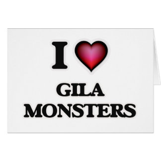 I Liebegila-Monster Grußkarte