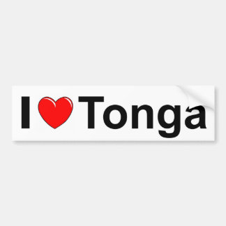 I Liebeherz Tonga Autoaufkleber