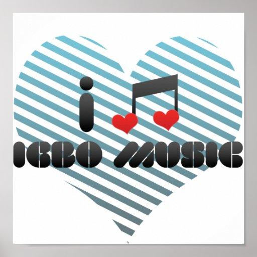 I Liebeigbo-Musik Poster
