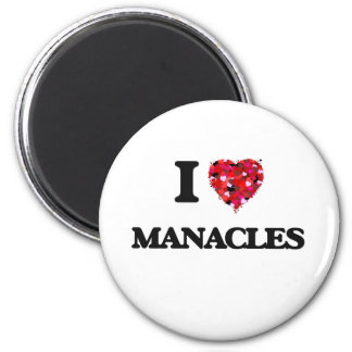 I LiebeManacles Runder Magnet 5,1 Cm