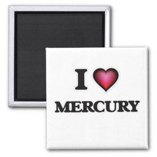 I LiebeMercury Quadratischer Magnet