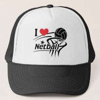 I LiebeNetball, Netball Truckerkappe