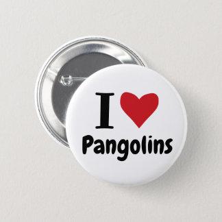 I LiebePangolins Runder Button 5,7 Cm