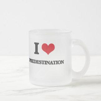 I LiebePredestination Matte Glastasse
