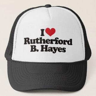 I LiebeRutherford B Hayes Truckerkappe
